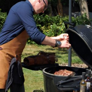 Barbecueën met de Barbecueschort van DutchMade